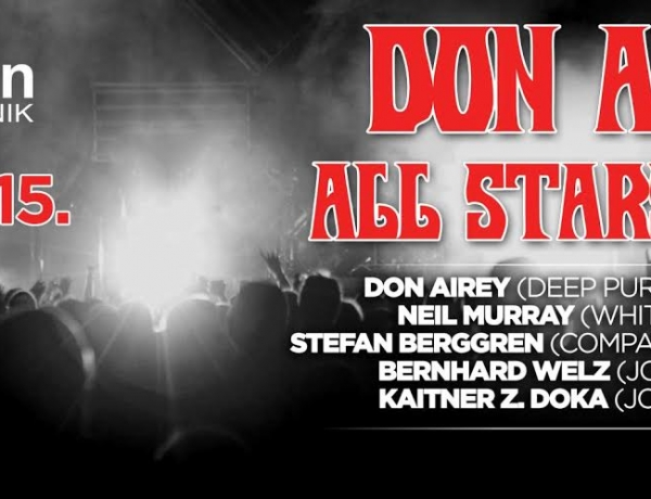 Don Airey All Stars Night at Revelin 9. 7. 2015.